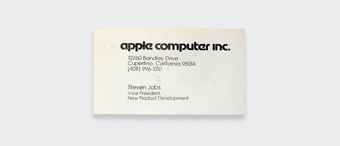 Steven Jobs, Apple