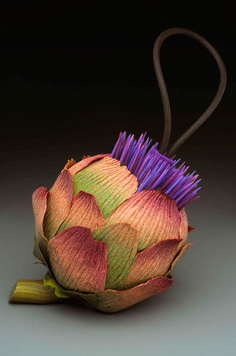BloomingArtichoke дизайнерские кошельки, сумки