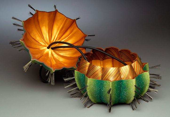 cactusPurseOpen дизайнерские кошельки, сумки