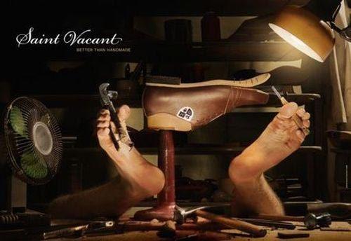 креативная реклама обуви