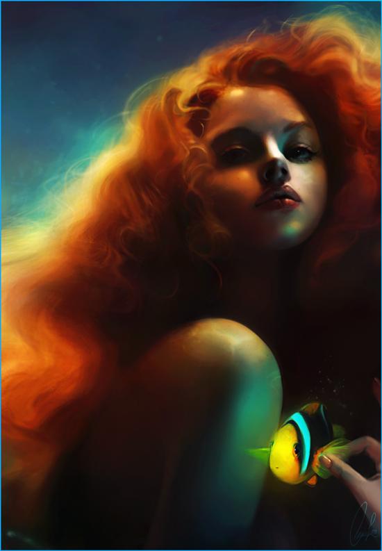 Ariel и Flounder от Meirou