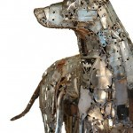 Необычные скульптуры из металла от Brian Mock