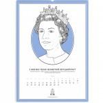 Стильный календарь на 2012 год от студии Gladhead