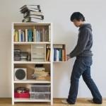 Хитрый шкаф для книг от Yi-Cong Lu