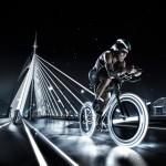 Серия изображений, символизирующих новую эру спорт рекламы