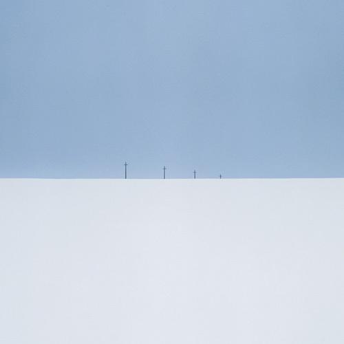 Crosses. Kireevsk, Russia, 2012.