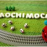 Вязаные игрушки от Anna Hrachovec и ее проект Mochimochi