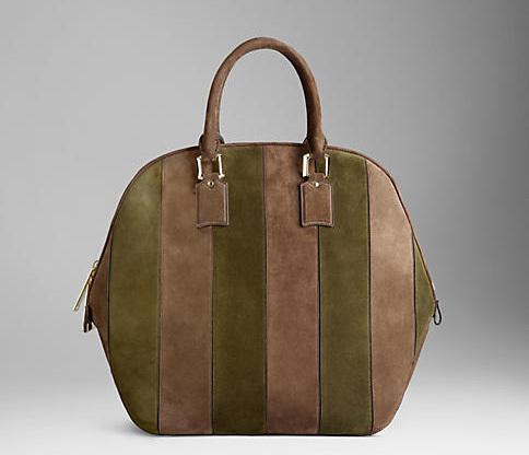 Замшевая сумка Burberry