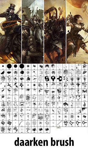 кисти для рисования в фотошопе