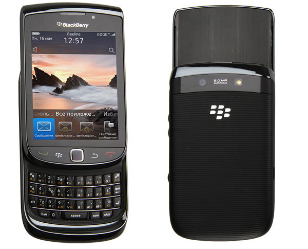 Blackberry Torch 9800 обзор