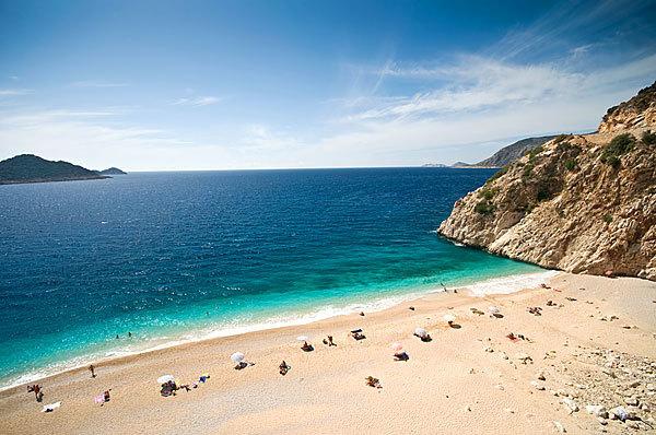 Лучшие пляжи Турции Kaputas Beach