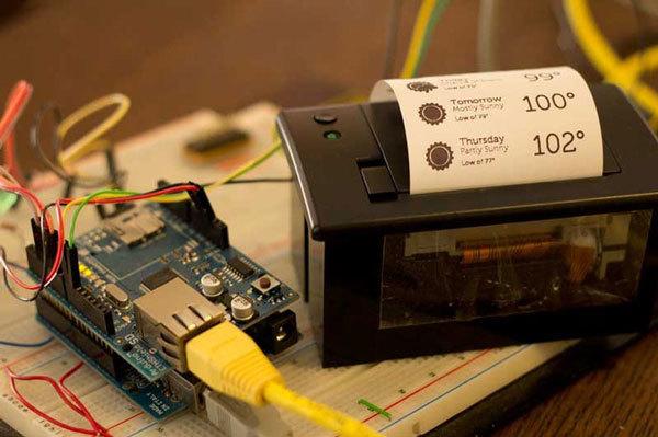 Портативный термопринтер MPrinter  (1)