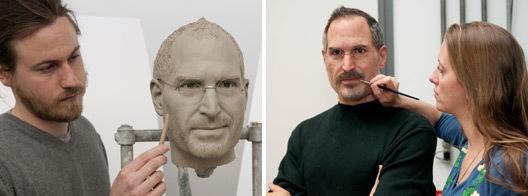 восковая фигура Стива Джобса