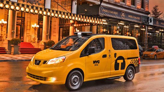 Желтое такси фото (8)
