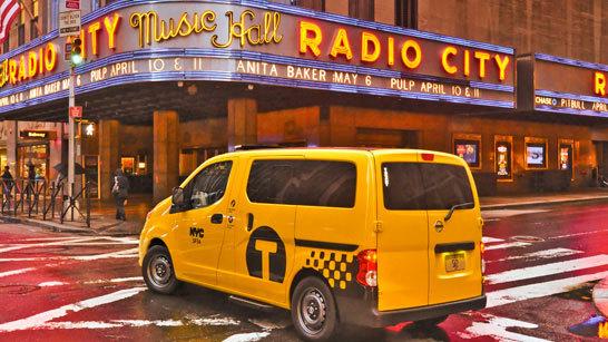 Желтое такси фото (7)