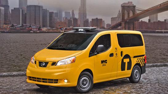 Желтое такси фото (6)