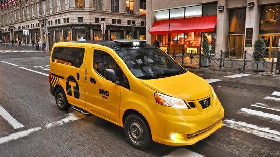 Желтое такси фото (5)