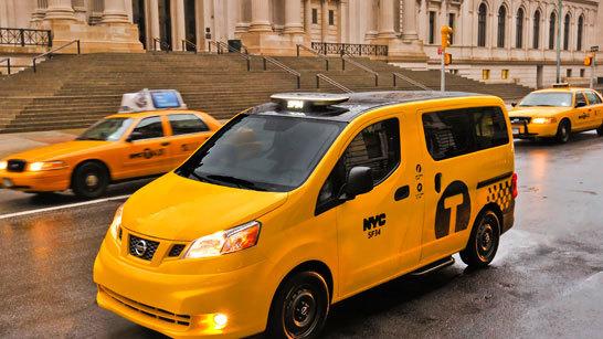 Желтое такси фото (4)