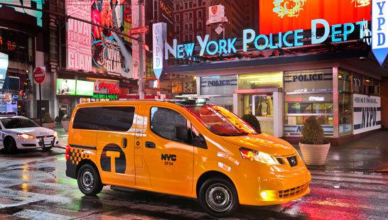 Желтое такси фото (3)