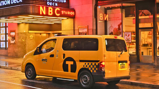 Желтое такси фото (1)