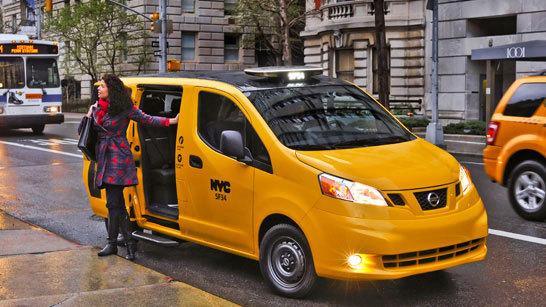 Желтое такси фото (17)