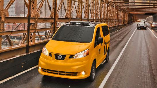 Желтое такси фото (16)