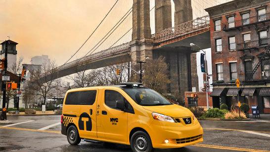 Желтое такси фото (15)