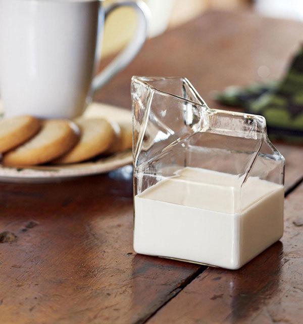 молочник Glass Milk Carton