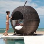 Плетеная кровать Igloo Apple Day Bed