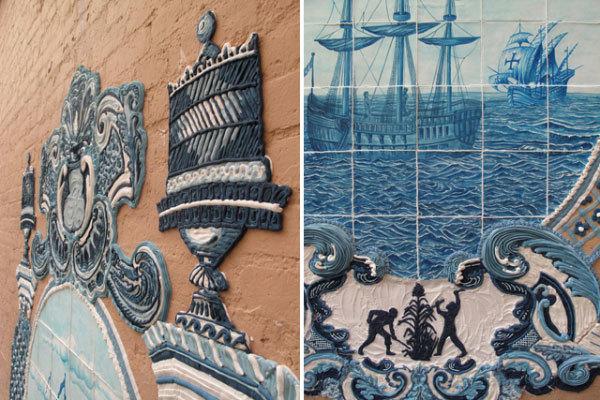 португальская керамическая плитка Azulejos