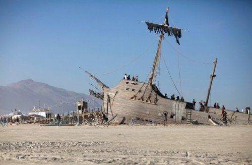 The Burning Man 2012