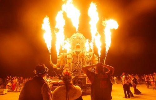 The Burning Man 2012