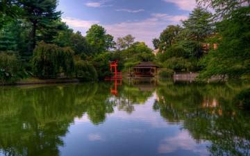 Бруклинский ботанический сад в Нью-Йорке