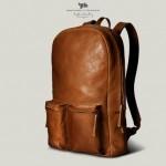 Кожаный рюкзак для ноутбука от Hard Graft