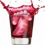 Форма для льда в виде клыков вампира