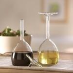 Необычное использование идеи винных бокалов