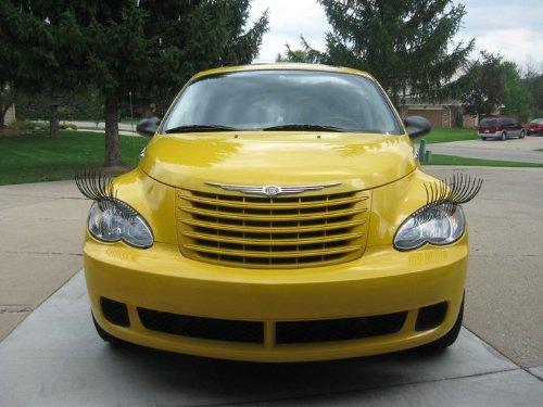 ресницы для автомобиля