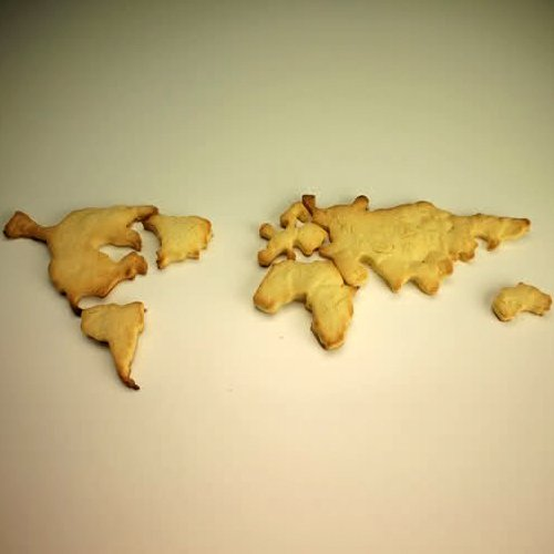 форма для печенья World Cookie Cutter Set