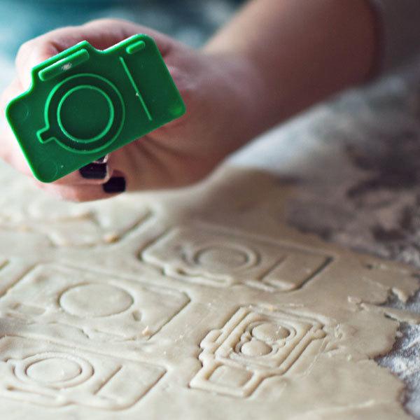 Camera Cookie Cutters - необычные формочки для печенья