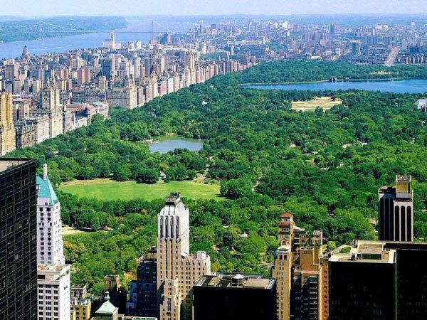 Централ Парк в Нью-Йорке