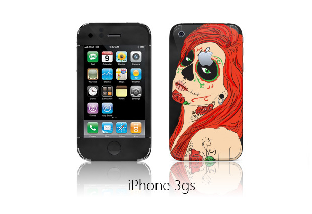 Наклейки на iphone 3gs