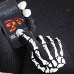 Перчатки скелет + ремень скелет = совсем не страшная мода на скелеты