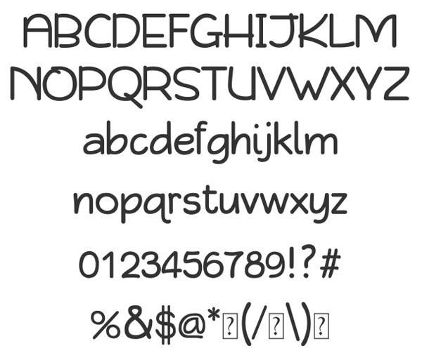 скачать красивые шрифты Qikki-Reg