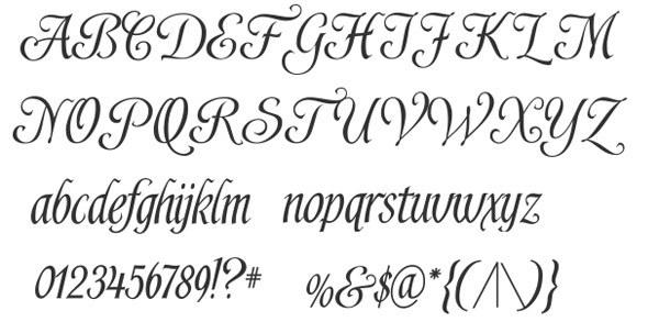 скачать красивые шрифты Shardee