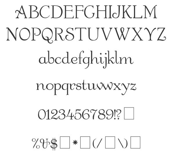скачать красивые шрифты Garton