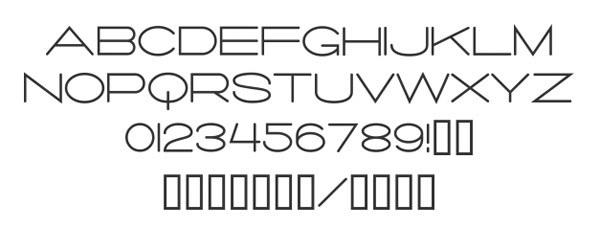 скачать красивые шрифты Salaryman