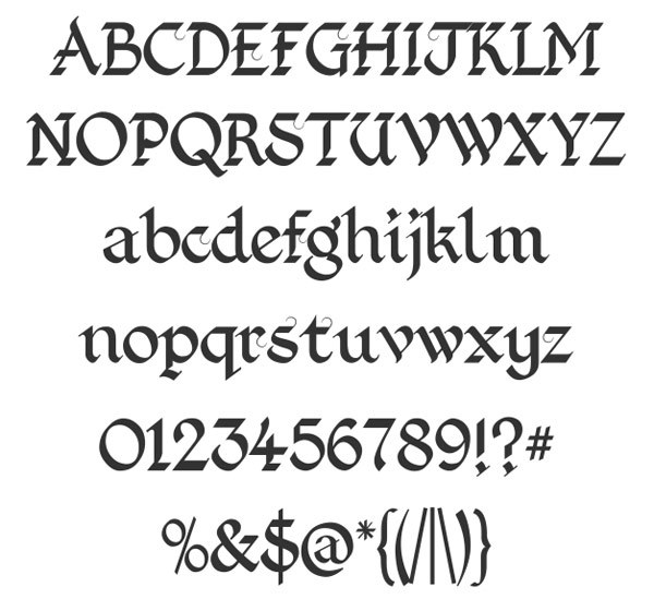 скачать красивые шрифты Kingthings-Foundation