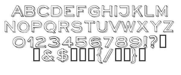 скачать красивые шрифты NeoRetroDraw