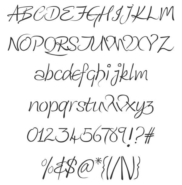 скачать красивые шрифты Kingthings-Wrote
