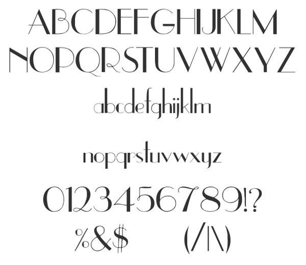 скачать красивые шрифты UpperEastSide